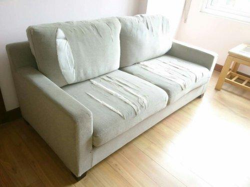 Cả bộ ghế sofa đều cần phải thay vỏ mới