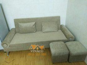 Bộ ghế này đẹp như mới sau khi sử dụng các dịch vụ của Vinaco