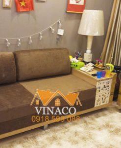 Hình ảnh bộ đệm ghế cực dày dặn của gia đình ở Trần Thái Tông, Cầu Giấy