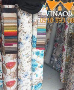 Một số mẫu vải làm đệm ghế tại Vinaco