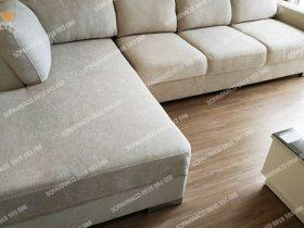 Tất cả mặt đệm ghế đều được bọc phẳng không hề có nếp nhăn