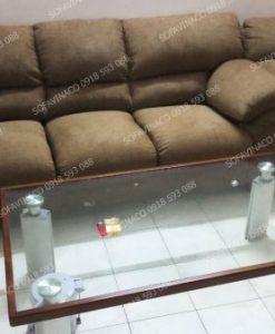 Công trình thay vỏ ghế sofa cho cô Hạnh ơt Hoàng Hoa Thám đã được hoàn thành