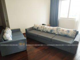 Bọc ghế sofa tại khu đo thị Ciputra Tây Hồ, Hà Nội