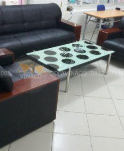 Công trình bọc ghế sofa văn phòng ở Đông anh đã được hoàn thành