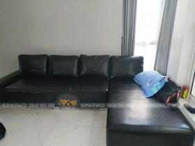 Dịch vụ bọc mới ghế sofa đã hoàn thành xuất sắc công việc thay da mới cho bộ ghế này