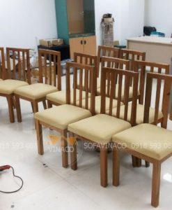 Liên hệ dịch vụ bọc đệm ghế ăn của Vinaco để được tư vấn chi tiết nhất