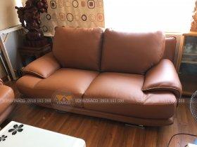 Da mới, màu mới... dịch vụ bọc ghế sofa da đã hoàn thành xuất sắc công việc của mình