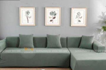 Ga trùm bọc ghế sofa giúp sofa của bạn luôn sạch đẹp