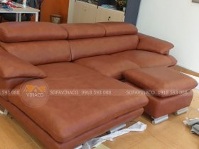 Dịch vụ bọc ghế sofa da thật của Vinaco đã hoàn thành tốt công trình bọc ghế tại Xuân Thủy