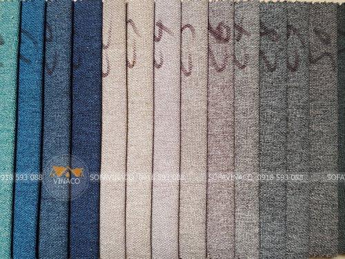 Các màu của mẫu vải thô TM-12