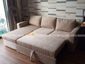 Vỏ bọc ghế là chất liệu vải nỉ nhung rất được yêu thích