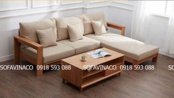 Mẫu nệm lót ghế gỗ bằng vải mềm mại hot 2020