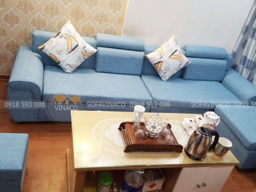 Bọc ghế sofa giá rẻ cùng Vinaco