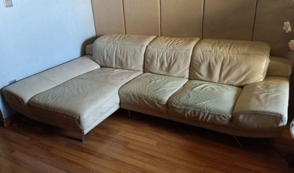 Bộ ghế sofa thật bị nhão vỏ bọc ngoài