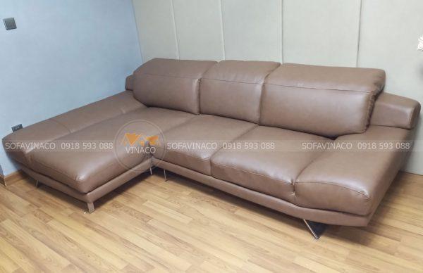 Thay vỏ bọc ghế sofa bằng da công nghiệp dày dặn