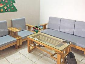 Tông màu đệm ghế trung tính hợp với mọi màu sắc, mọi kiểu nhà