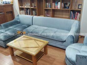 Bọc lại da ghế sofa bằng dịch vụ của Vinaco