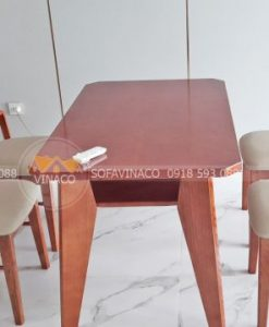 Bọc đệm ghế ăn chất lượng cao cùng Vinaco, tự chọn chất liệu theo ý thích