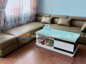 Bọc lại ghế sofa da cùng dịch vụ của Vinaco