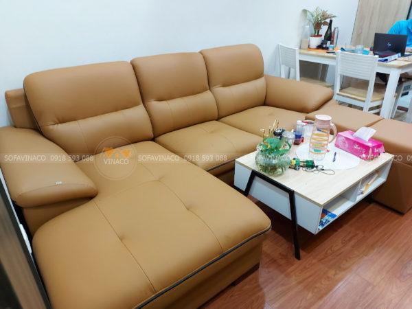 Bọc ghế sofa da giá rẻ tại Mỹ Đình