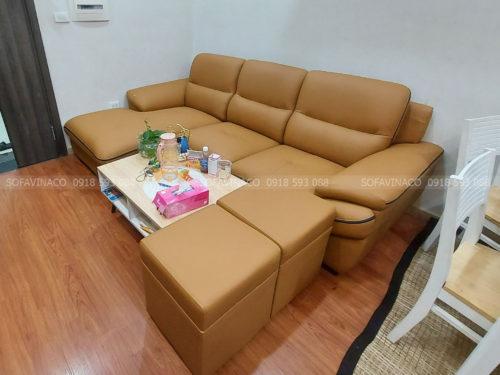 Dịch vụ bọc lại ghế sofa da tại quận Từ Liêm