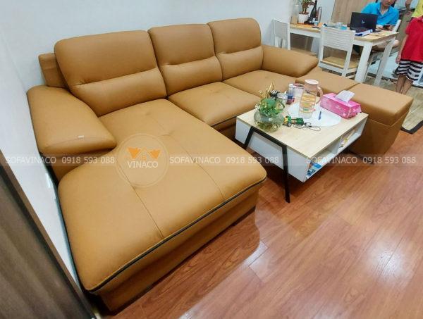Chất da bọc ghế sofa nhám không trơn trượt