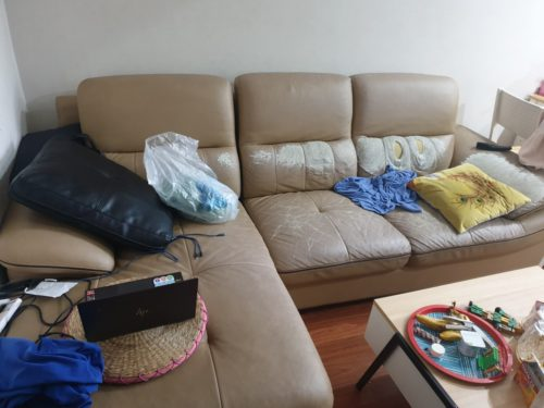 Bộ sofa cũ của anh Thành ở Từ Liêm