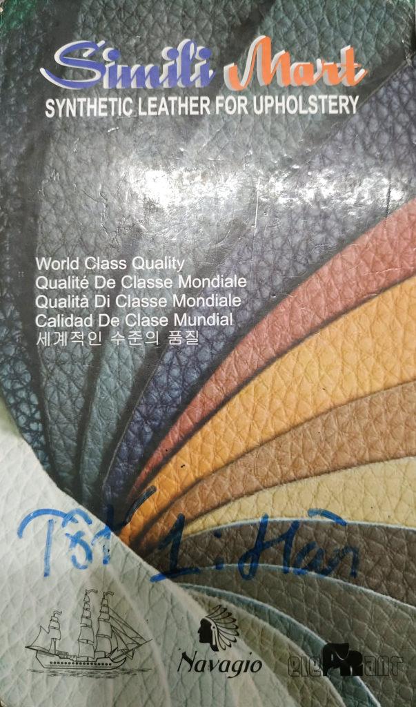 Quyển da Simili Mart chuyên dùng làm vỏ bọc ghế, đệm ghế