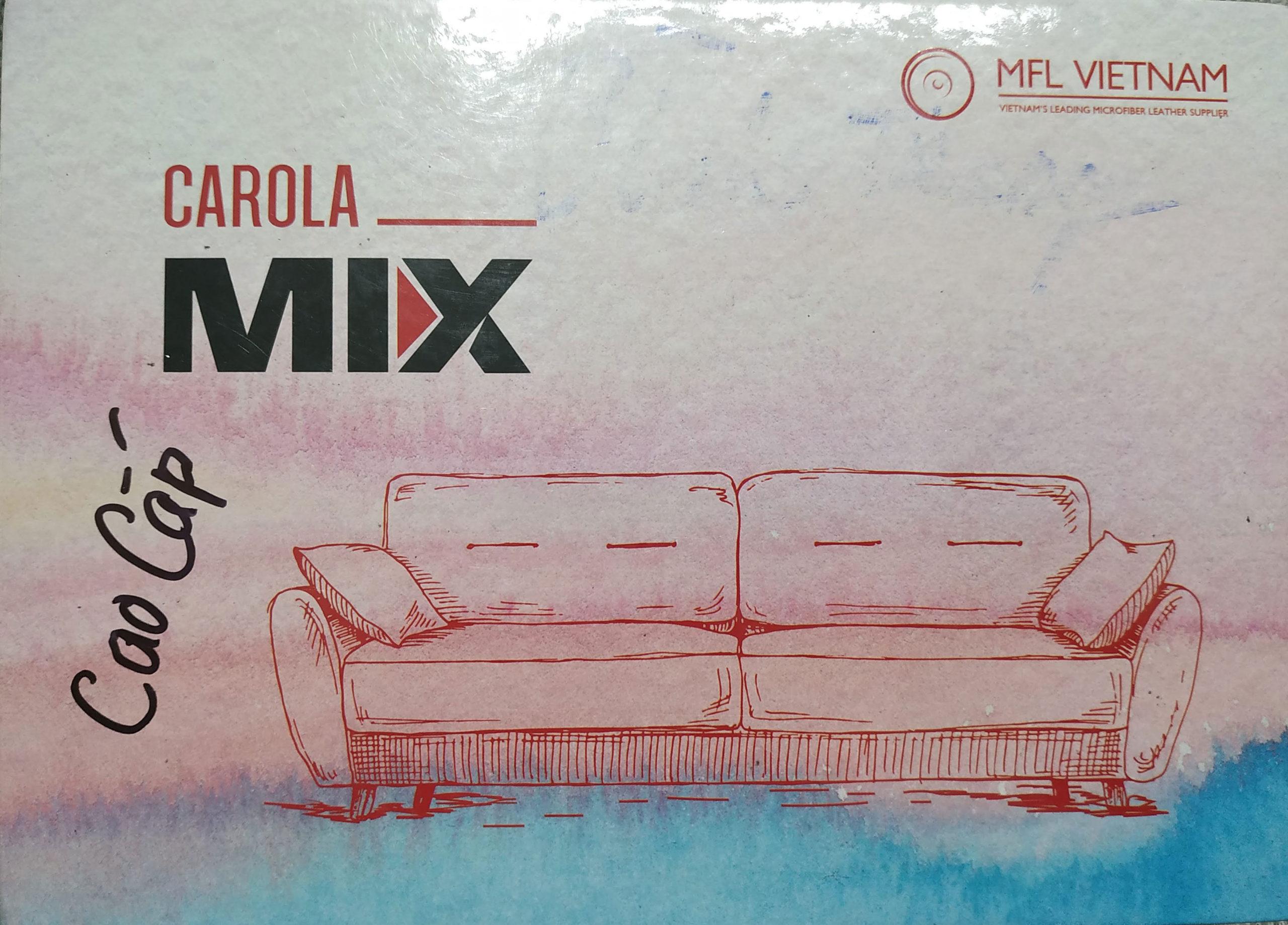 Quyển mẫu da Mix