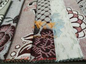 Mỗi mẫu lại có một kiểu dệt và hoa khác nhau