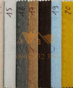 Các màu của mẫu vải nỉ K10