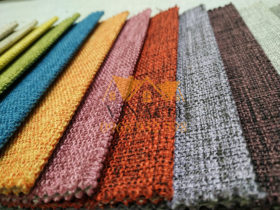 Mặt vải được dệt sần rất hiện đại