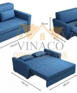 Ghế sofa giường dạng kéo có ngăn đựng đồ