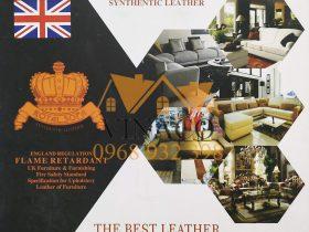 Mẫu da bọc ghế sofa Malaysia