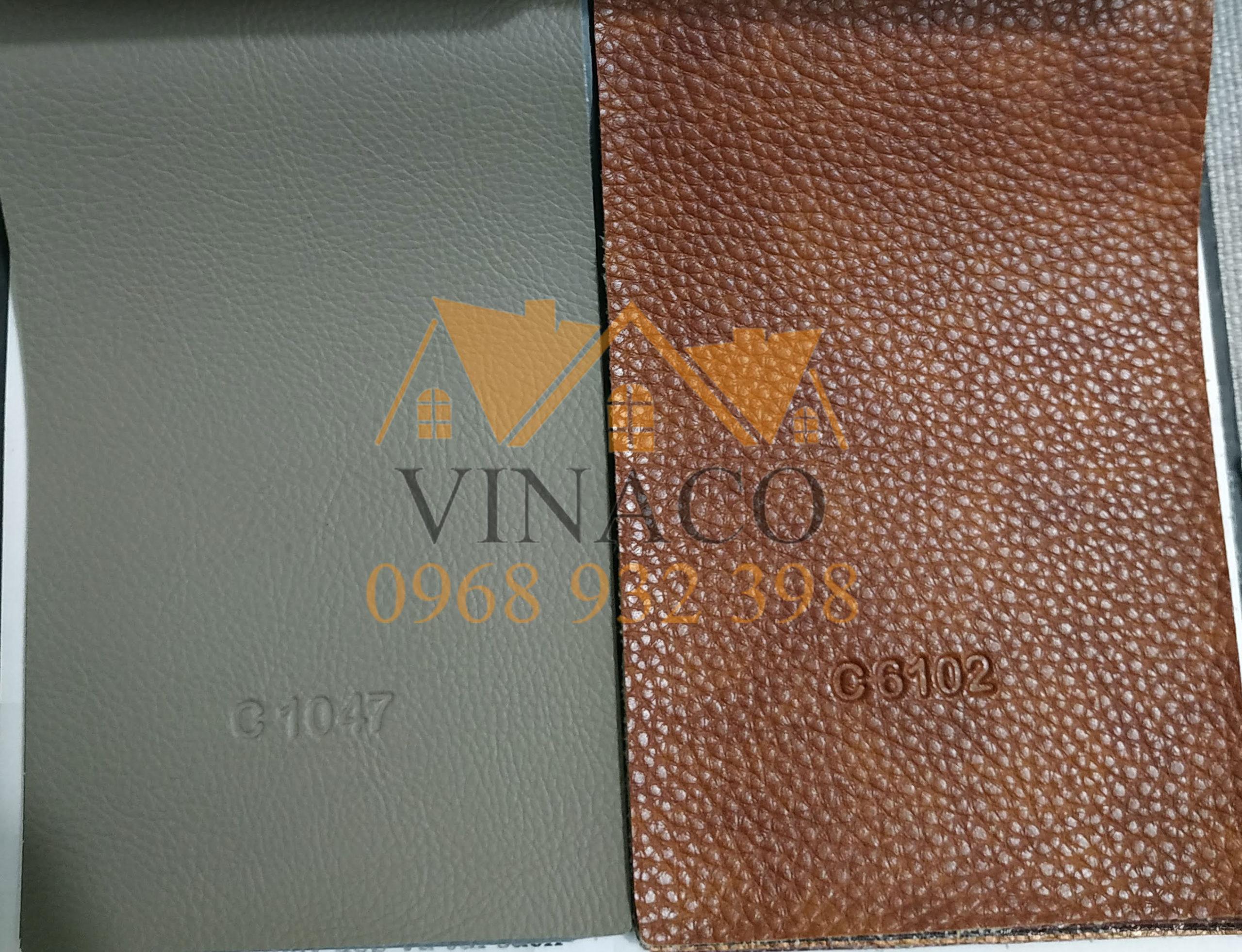 Mẫu da bọc sofa tổng hợp từ Malaysia