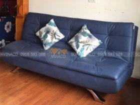 Ghế sofa giường màu xanh dương