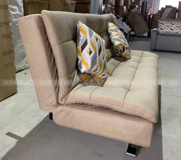 Mẫu ghế sofa giường màu trắng sữa