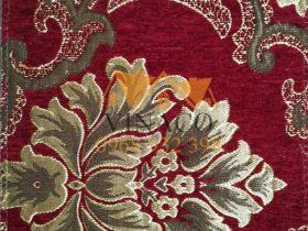 Mẫu vải này rất hợp làm đệm ghế cho các loại ghế đồng kỵ, giả cổ
