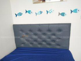 Một công trình bọc đệm đầu giường cho nhà khách hàng của Vinaco
