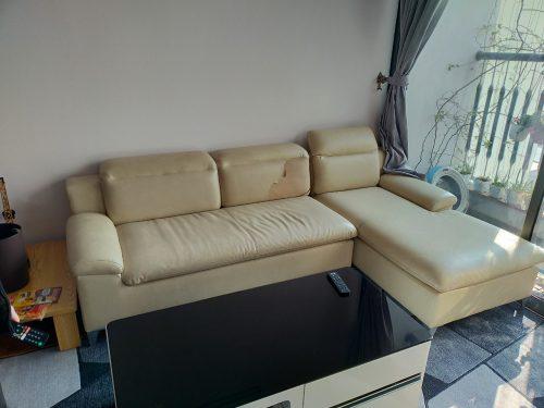 Bộ ghế sofa cũ của anh Trường tại 198 Trần Cung, Cổ Nhuế 1