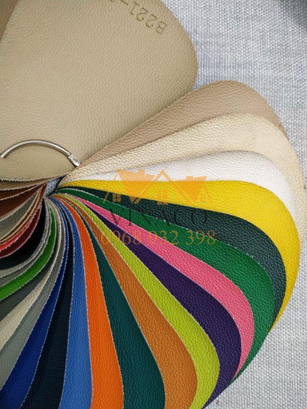 Các màu sắc sẵn có của mẫu da bọc ghế sofa giá rẻ HOME