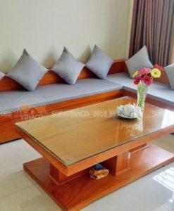Đệm ghế sofa góc cho khách tại Thái Hà, Đống Đa
