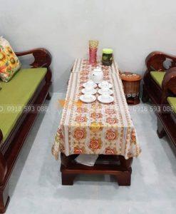 Bộ đệm cho ghế Đài Loan đã được hoàn thành và ship đến Bình Chánh cho gia đình chị Ngọc