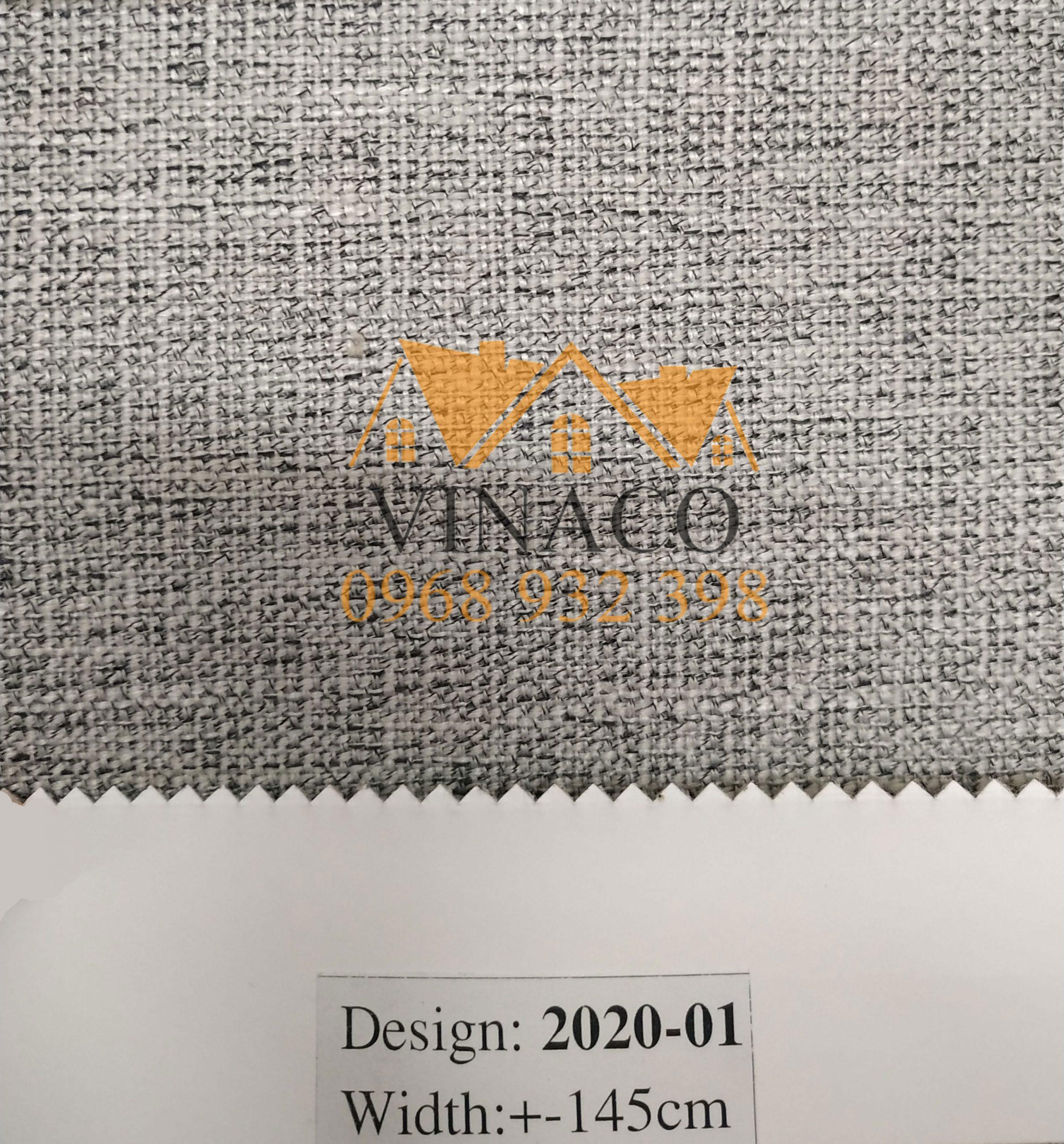 Mẫu vải thô LT-2020 chuyên dùng làm đệm ghế gỗ