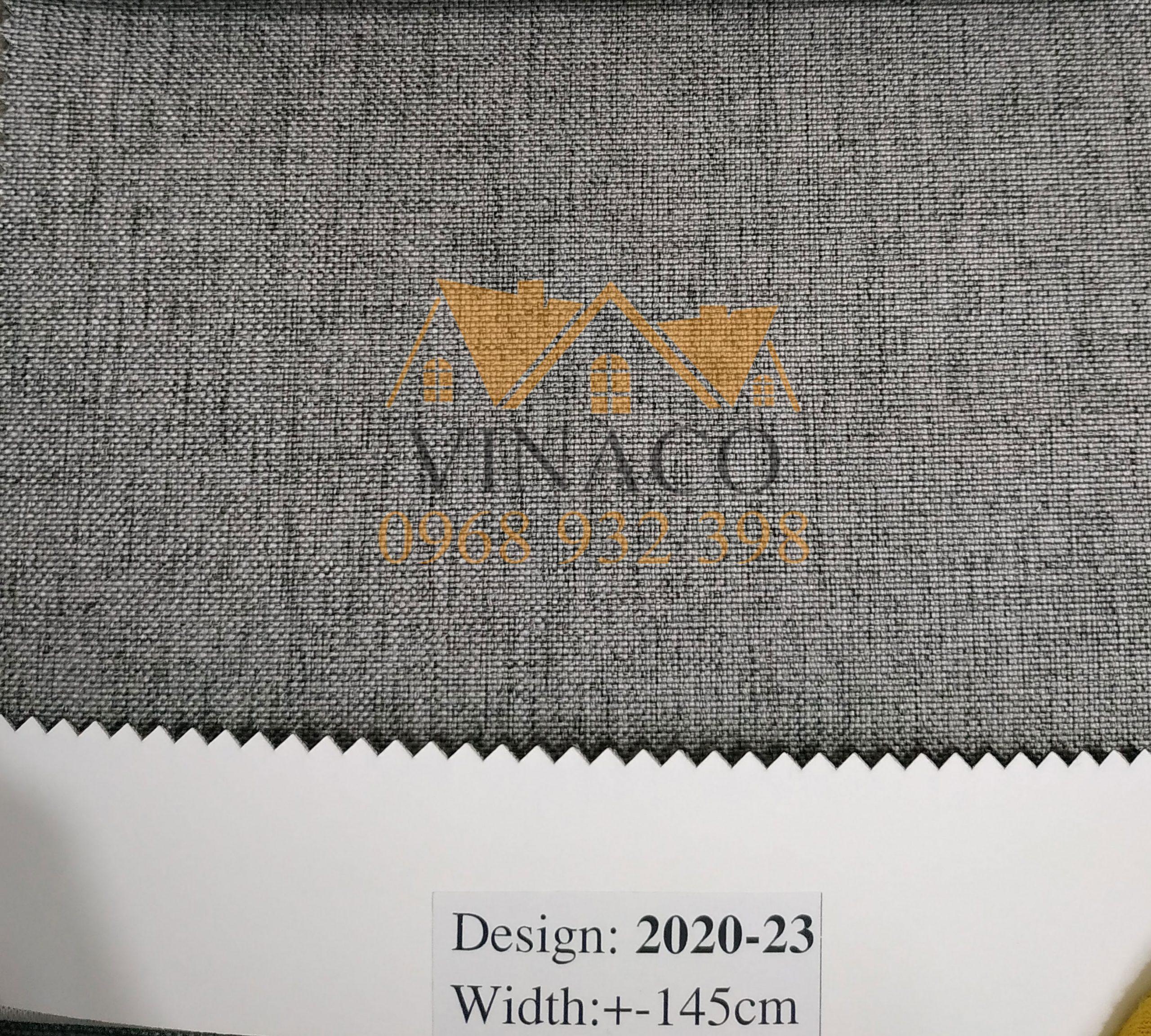 Mẫu vải thô LT-2020 chuyên dùng làm vỏ bọc ghế sofa