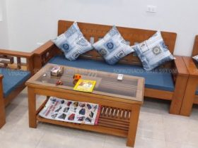 Bộ đệm ghế vừa được giao cho khách hàng ở Quan Nhân, Thanh Xuân