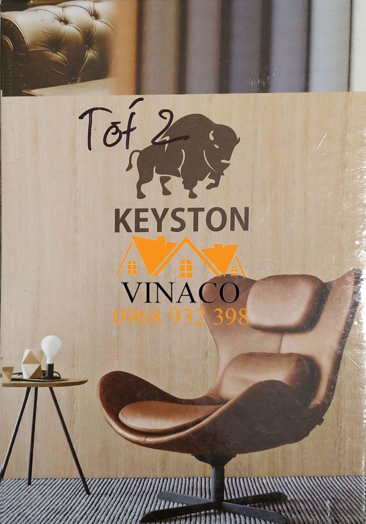 Quyển da Cleo Keyston chuyên dùng làm vỏ bọc ghế sofa