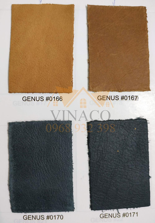 Các màu da của mẫu da thật Italia