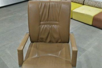 Ghế sofa đơn bọc da – Những lưu ý khi lựa chọn vỏ bọc lại ghế sofa đơn