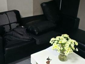 Bộ sofa bọc da bị bong chóc mất thẩm mỹ
